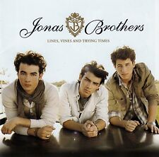 JONAS BROTHERS : LINES, VINES AND TRYING TIMES / CD - TOP-ZUSTAND