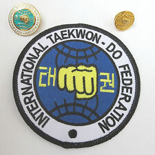 ITF TAEKWONDO - Patch or Badge - Offiziell Identification for all Members