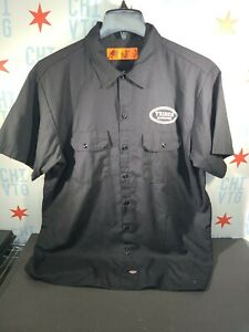 Tribes Alehouse / Brewery Beer Work Shirt Button Down Size XL Dickies