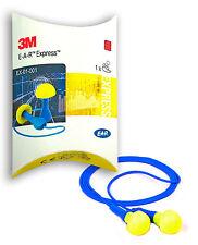 1 Paar 3M Ear Gehörschutzstöpsel Express Ohrstöpsel Gehörschutz mit Band
