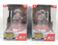 "2 Domez Marvel Zombies ZOMBIE HULK 551 *NEW Sealed* 2"" Figure Stackable Zag"