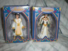 Grolier Ornament lot of 2 Disney Aladdin Jasmine Wedding