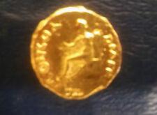 NICE 69 A.D. GOLD AUREUS OF EMPEROR VITELLIUS -RESTRIKE