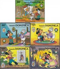 dominica 933-937 (complete issue) unmounted mint / never hinged 1985 Walt-Disney