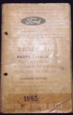 Ford Dexta  und Super Dexta 1965 Ersatzteilliste