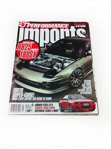 Performance Imports Magazine - No 145 JDM SUBARU TOYOTA MAZDA