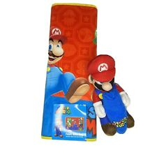 Super Mario Bath Mat And Bath Buddy Towel Set