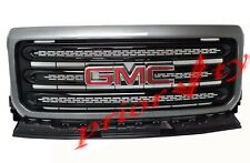 84193049 Exterior Front Grille Package Satin Steel Metallic 2018-2020 GMC Canyon