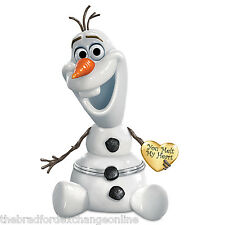 Disney FROZEN Olaf Porcelain Music Box: Granddaughter, You Melt My Heart