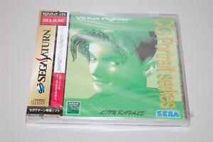 Virtua Fighter CG Portrait Series Leon Rafale Japan Sega Saturn game New Sealed