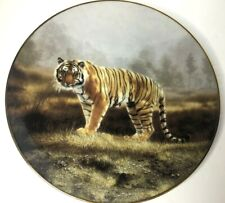 WS George ROYAL BENGAL Tiger Decorative Plate by Charles Frace Collectable