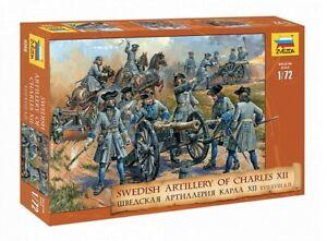 Swedish Artillery of Charles XII 17-18th Century8066 ZVEZDA 1:72 New!