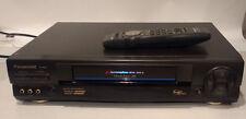 Panasonic PV-9664 HiFi VHS VCR Video Cassette Player Recorder + remote control