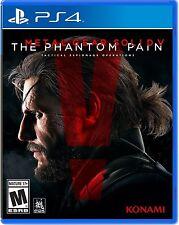 PS4  Metal Gear Solid V 5 The Phantom Pain NEW Sealed REGION FREE