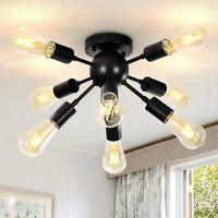Sputnik Chandelier Ceiling Light Modern Pendant Industrial Vintage Fixture Lamp