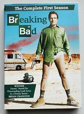 Breaking Bad: The Complete First 1st 1 Season (DVD, 2009, 3-Disc Set)