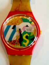 """SWATCH WATCH""""COLLAGE DORE"""" VERY RARE NEW COLLECTABLE MINT GR116 GREAT GIFT NIB"""