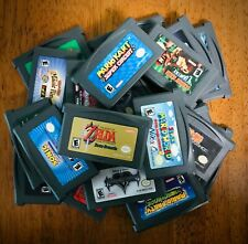 GameBoy Advance GBA Games ~ Authentic & Tested ~ Carts Only ~ Big Selection!!