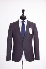 Mens Slim Fit Suit Ben Sherman Camden Navy Blue Check 40R W34 L32