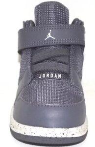 Nike Air Jordan 1 Flight 4 Premium BT Dark Gray Pure Platinum Size 3c NEW
