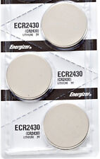 3 x Energizer CR2430 Batteries, Lithium Battery 2430 | Shipped from USA