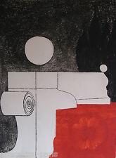 YANNICK BALLIF BALIF GRAVURE 1969 SIGNÉE CRAYON  ANNOTÉE EE HANDSIGNED ETCHING