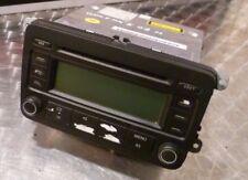 VW Golf MK5 RCD 300 radio reproductor de CD estéreo 1K0035186J (sin código)