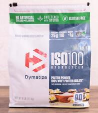 Dymatize ISO100 Hydrolyzed 100% Whey Protein Isolate Powder, Vanilla 90 Servings