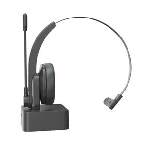 Bluetooth 5.0 Wireless Headset +Microphone On Ear Headphone Fit Fit PC Driver