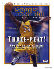 Shaquille O'Neal SIGNED Sports Illustrated Print Lakers ITP PSA/DNA AUTOGRAPHED
