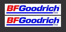 BF GOODRICH Tyres  Printed on High Quality Vinyl - Laminated x 2