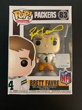 Brett Favre Signed Funko Pop Green Bay Packers PSA/DNA