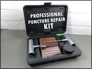 Puncture Repair Tyre Professional heavy duty outfit kit garage mechanic tool set