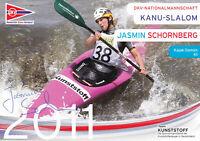 Jasmin SCHORNBERG - Deutschland, Gold WM 2009 Kanu, Original-Autogramm!