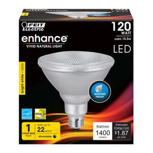FEIT 155 watts PAR38 LED Bulb 1400 lumens Warm White Floodlight 120 Watt