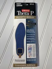 Magnetic Homedics Thera P Insoles Cushioned - Women's Size 5-10 One Pair- New