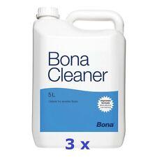 Bona Cleaner - 3 x 5 L - Parkett Reinigung