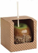 Caramel Apple Treat Boxes 3 ct from Wilton #2406 - NEW