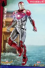 Hot Toys 1/6th Iron Man Mark XLVII  MK47 Figure Spider-Man Homecoming MMS427D19