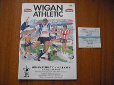 FA Cup Home Teams S-Z Football Programmes with Match Ticket