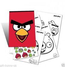 Con Licencia Angry Birds cerca A5 Actividad Pack-Pegatinas y libro coloración