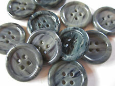 "7/8"" Jade Color Plastic Suiting Buttons Pack of 4"
