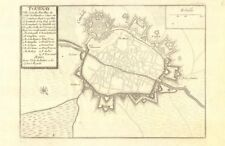 'Tournay'. Tournai Doornik. Fortified town/city plan. Belgium. DE FER 1705 map