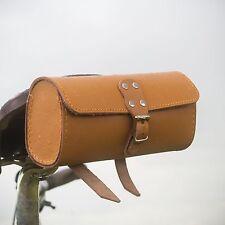 Bicycle Saddle Tool Bag Real Leather Bike Bag 1st Class FREE WORLDWIDE SHIPPING