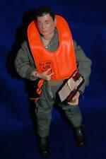 "G.I. Joe Action Pilot  Scramble flight suit 12"" GI Joe vintage Hasbro toy figure"