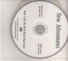 (BT167)  New Adventures, How I Got My Devil Back (Part One) - 2008 DVD