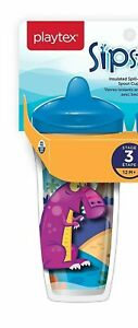 Playtex Sipsters Insulated Spout Cup Leak Proof BPA FREE 9 Oz 12 m+ NEW w/ TAG