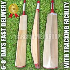 Senior Custom Plain Hand Made English Willow Cricket Bat 2lb 9ozs a1b1