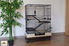 Nagervoliere BIG CAGE XL Nagerkäfig Käfig Hamsterkäfig Voliere Hamster Metall