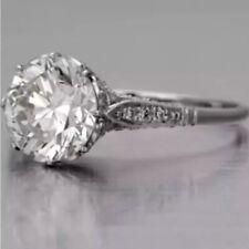 1.62 Carat Antique Edwardian Inspired Ring VS2 F